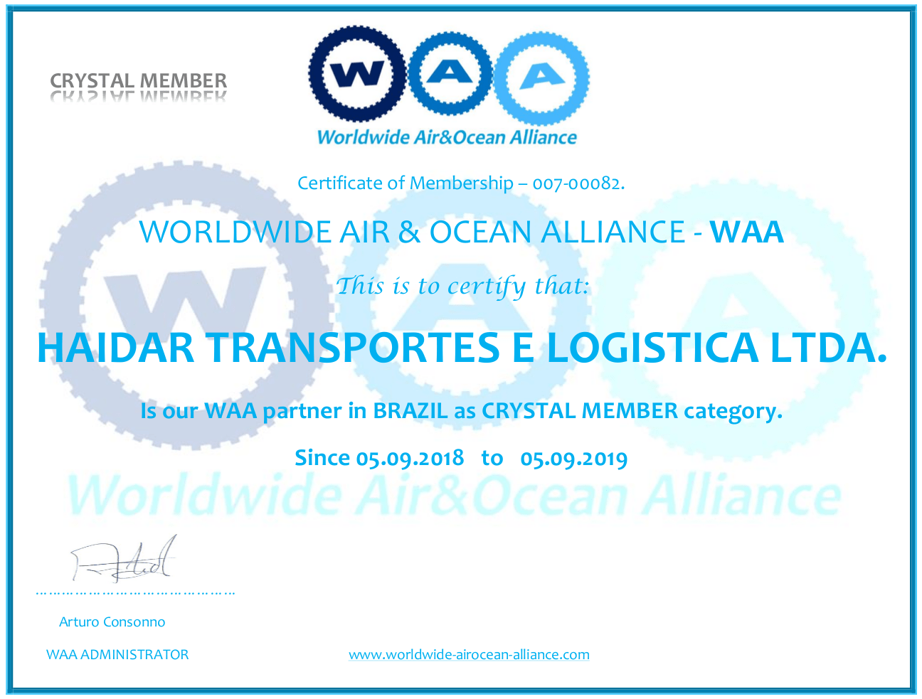 Worldwide Air & Ocean Alliance - WAA